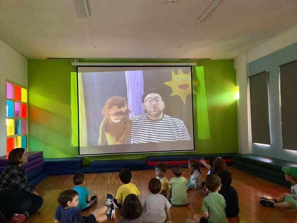 online παιδικές παραστάσεις