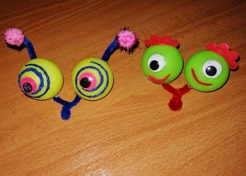 Κούκλες μάτια