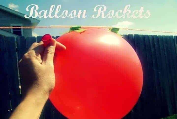 Δραστηριότητα! Μπαλονορουκέτα!