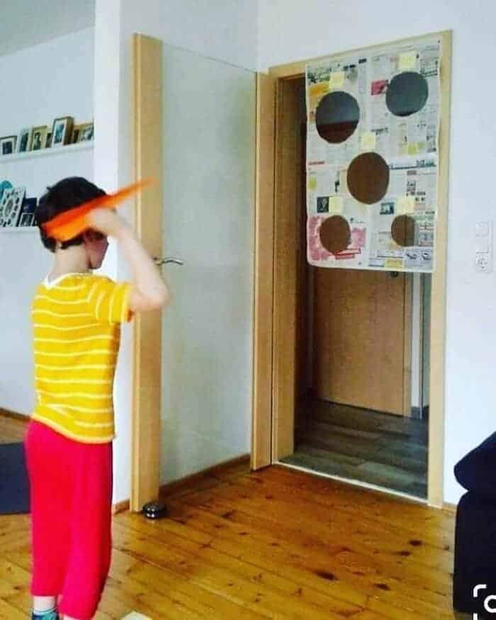 Δραστηριότητα στο σπίτι! Φτιάχνω το δικο μου σαΐτοδρόμιο!