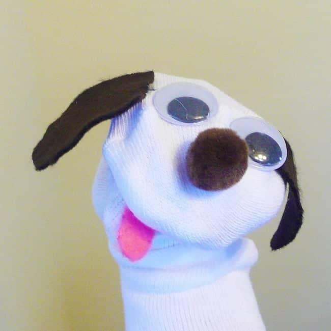 Σκύλος από κάλτσα