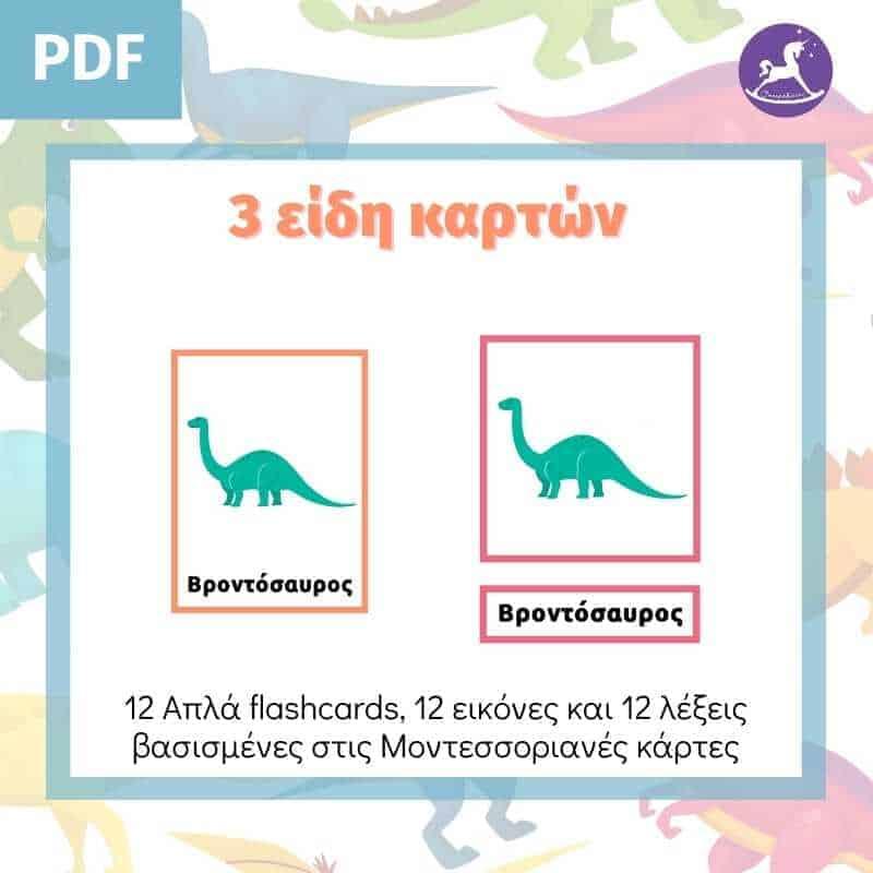 Κάρτες Δεινοσαύρων