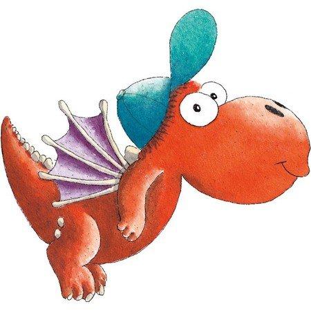 παιχνίδια με δεινόσαυρους και τον μικρό δράκο καρύδα